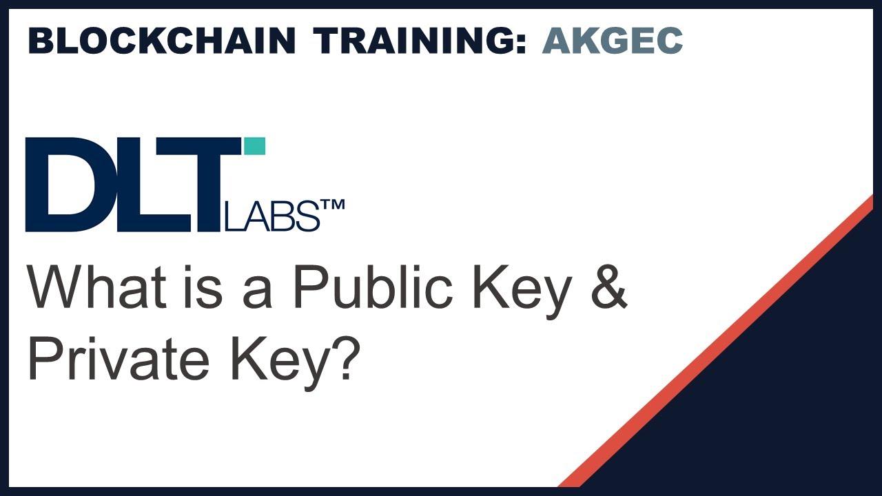 Private And Public Key BlockChain