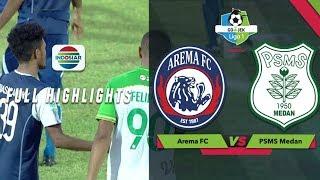Download Video AREMA FC (5) vs (0) PSMS Medan - Full Highlight | Go-Jek Liga 1 bersama Bukalapak MP3 3GP MP4