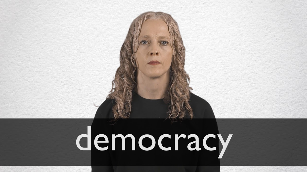 Democracy definition and meaning | Collins English Dictionary
