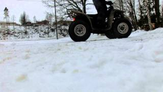 smc mistral 50 on snow