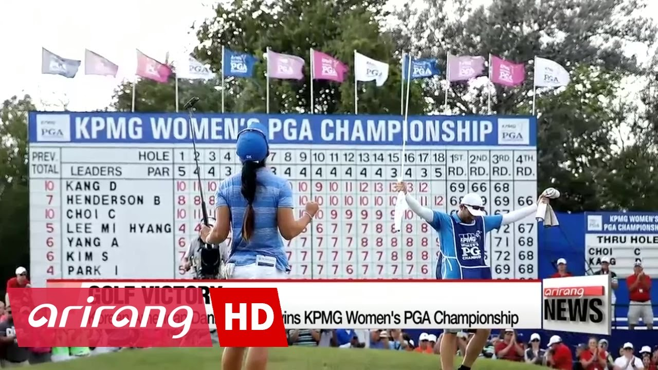 Danielle Kang wins KPMG Women's PGA Championship with birdie at 18