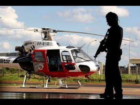 EP10 Grupamento Aéreo da Polícia Militar (PMESP) Aguias da cidade EP10 (HD)