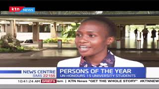Persons Of The Year: UN Honours 15 university students, Lady Justice Koome also honoured