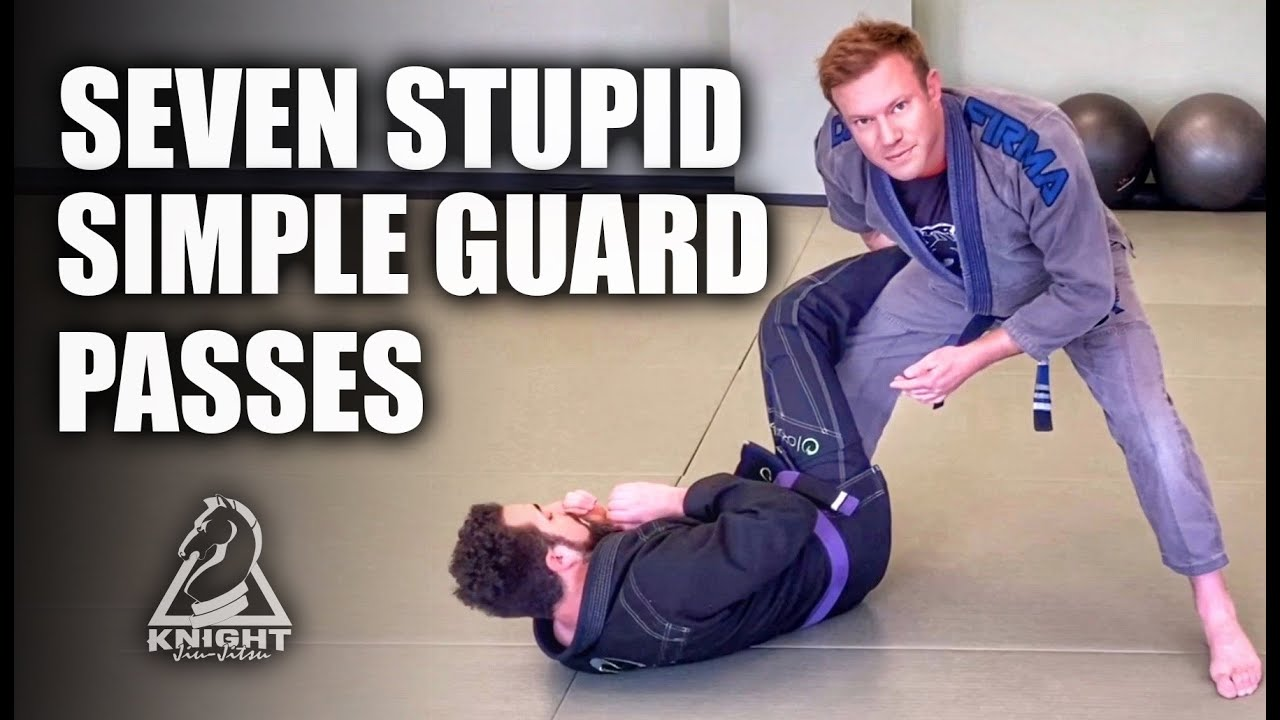 Seven Stupid Simple Guard Passes | Jiu-Jitsu Tricks