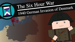 The Six Hour War: 1940 German Invasion of Denmark: History Matters (Short Animated Documentary)