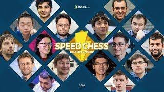 Speed Chess Championship 2018 Ajedrez online