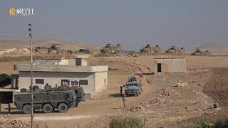 تسيير دورية روسية تركية بريف كوباني الغربي ـ نورث برس