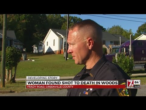 Woman shot, killed in Greenville County