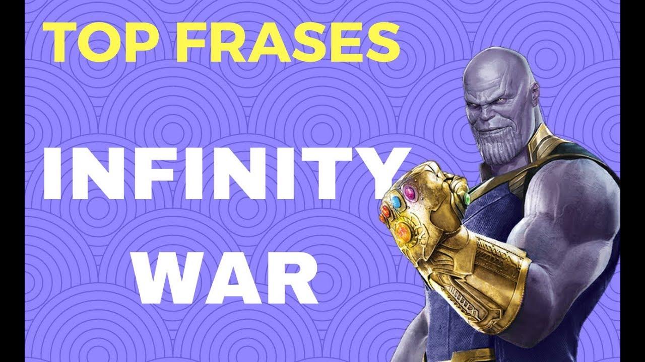 Top Frases De Infinity War 2018 Los Vengadores Hd Youtube