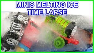 Thomas & friends MINIS MELTING ICE TIMELAPSE