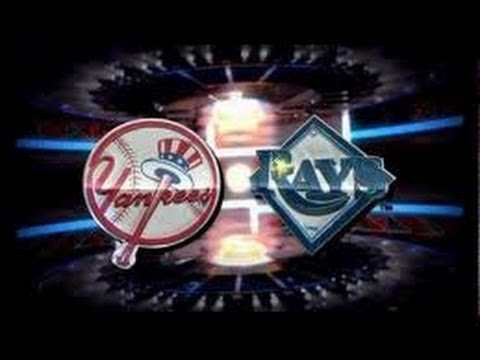 MLB 2014 ~ New York Yankees @ Tampa Bay Rays (Phelps Vs. Hellickson)