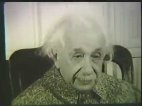Albert Einstein at Princeton University, 1951, discussing Hebrew University