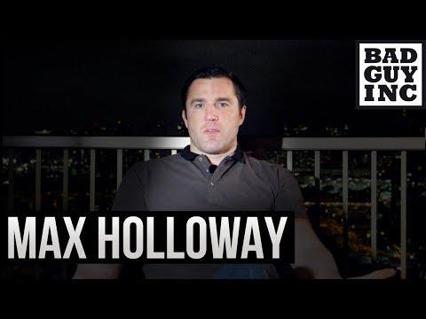 Let's talk Max Holloway...