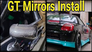 MR2 Spyder Formula GT3 APR Mirror Install
