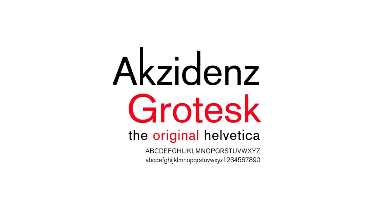 Akzidenz Grotesk Condensed free download