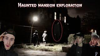 HAUNTED WOODLAND MANSION EXPLORATION AT 3AM! (SLENDERS MANSION + PROXY SIGHTING?!?)