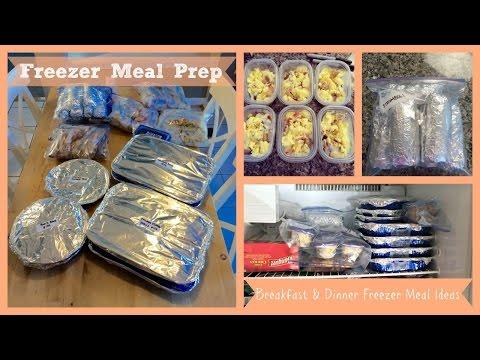 Healthy Living: How To Prepare Freezer Meals