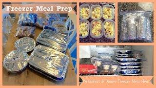 Meal Prep | Freezer Meals