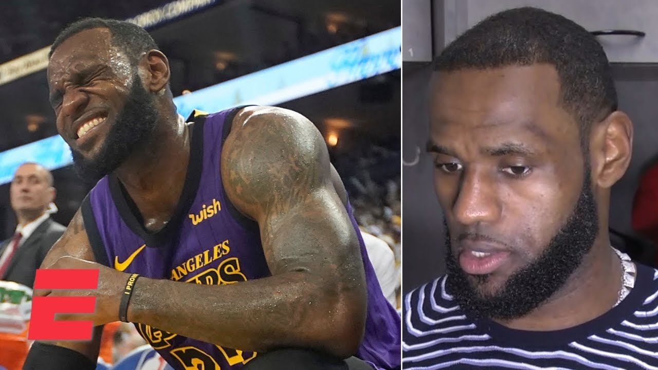 ca32f5de863 LeBron James gives update on injury and talks Lakers  blowout win vs.  Warriors