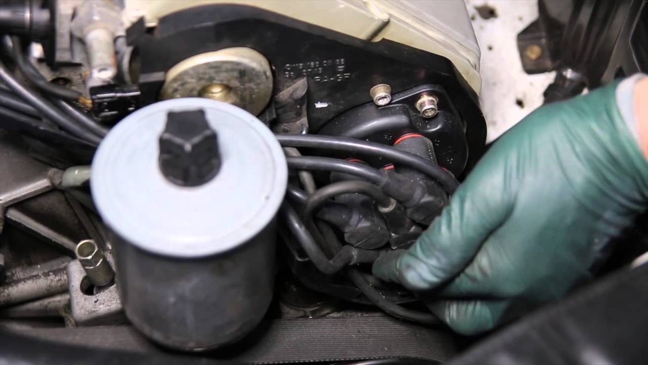 Mercedes M119 V8 Engine Inspection Part 3: Distributor Cap, Rotor and Wires  YouTube