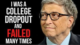 Motivational Success Story Oḟ Bill Gates - From College Dropout To The Richest Man In The World