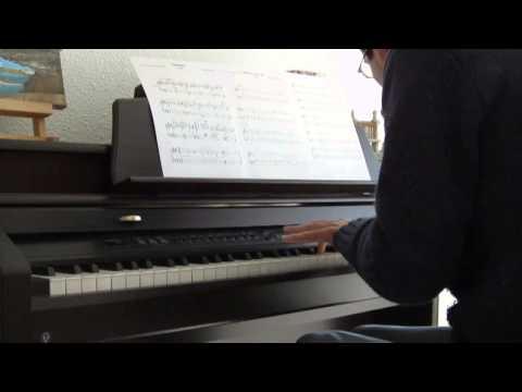 Bernard Herrmann-Vertigo themes (piano solo)