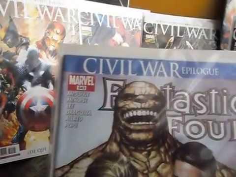 COMICS PERU 21 TODO LO PUBLICADO CIVIL WAR VS CIVIL WAR PANINI  X LIVANOKF