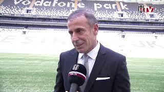 İmza töreni sonrası, Teknik Direktörümüz Abdullah Avcı'dan BJK TV'ye özel açıklamalar