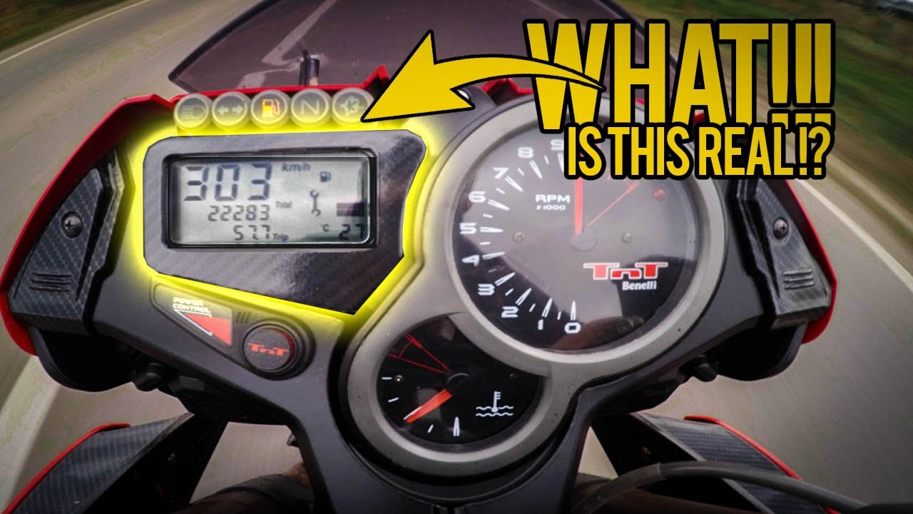 Download Benelli TNT 1130 TOP Speed ,0-100 Acceleration [High quality sound]
