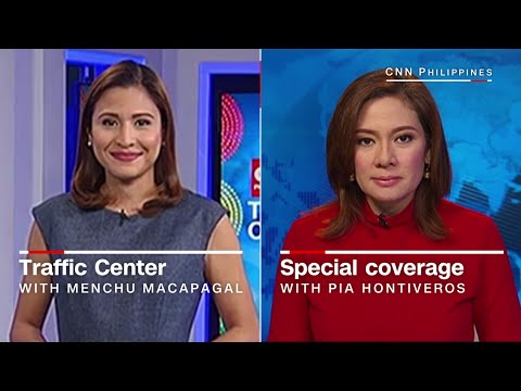 CNN Philippines: 'Traffic Center'/Special coverage [090816]