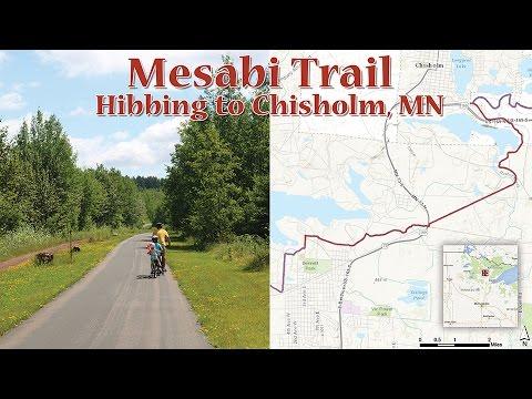 Mesabi Trail: Hibbing to Chisholm, MN