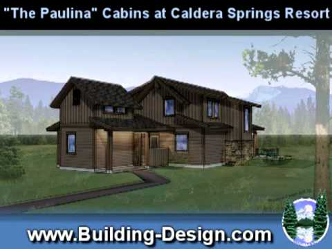 Paulina Cabin House Plans at Caldera Springs Resort Central Oregon ...