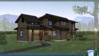 Paulina Cabin House Plans At Caldera Springs Resort Central Oregon