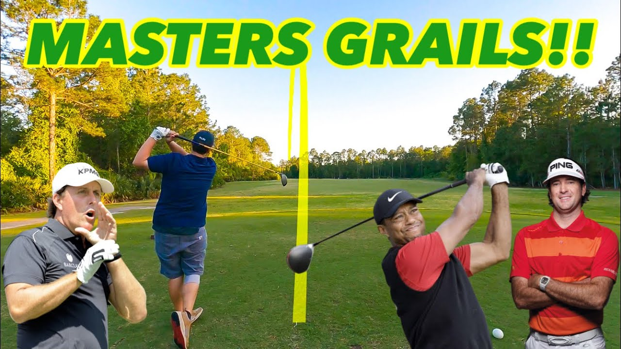TESTING VINTAGE GOLF CLUBS THAT WON THE MASTERS!! (300+ Yard Bombs!!)
