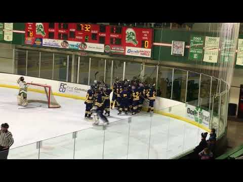 Pirate Boys Hockey over EGF in OT with radio call