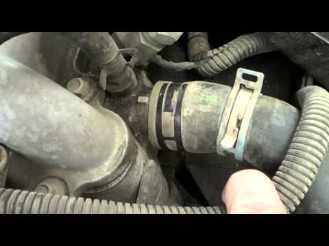 2002 Pontiac Grand Am Radiator Hose Replacement  YouTube