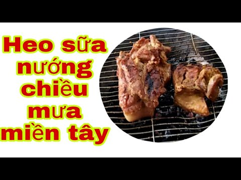 Cách ướp thịt lợn nướng 2019  people life in Vietnam