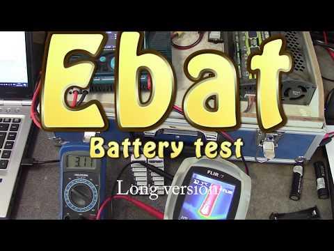 Ebat battery review - 18650 & 26650