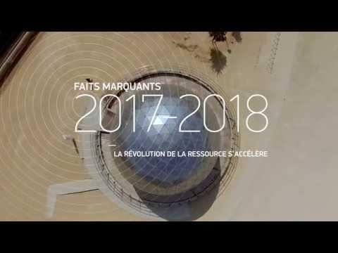 Faits marquants SUEZ - avril 2017 à avril 2018