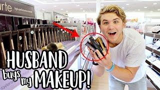 MY HUSBAND BUYS MY MAKEUP! | Aspyn Ovard