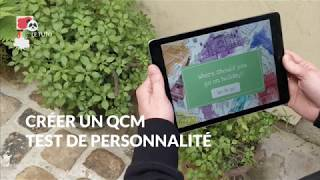 Créer un QCM / Test de personnalité interactif