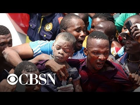 At least 8 killed and dozens trapped in Nigeria school collapse