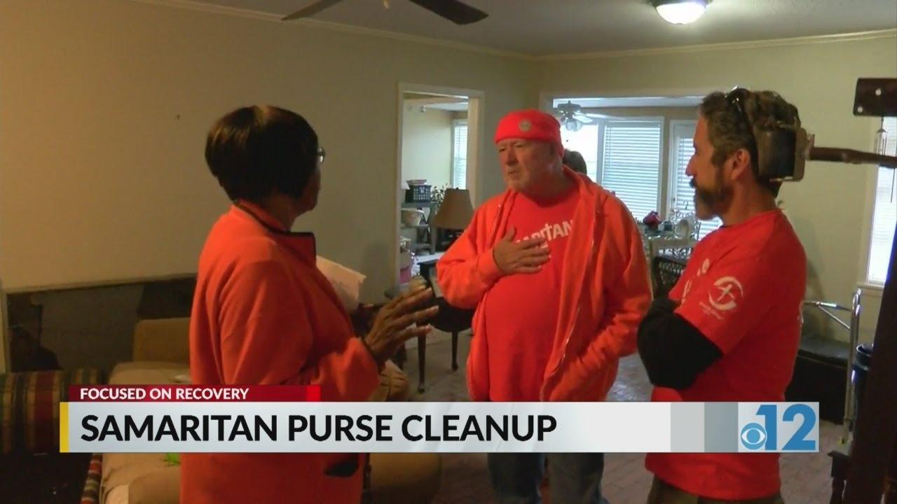 Samaritan Purse cleanup