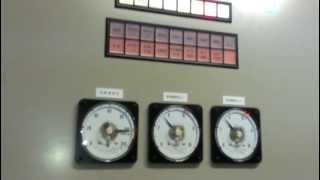 非常用ガスタービン発電機始動  (川重製300kW)