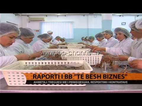 Raporti i BB 'Doing Business' - Top Channel Albania - News - Lajme