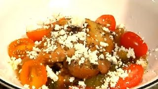 Recipe For Greek Chicken With Feta, Zucchini, Peppers & Onions : Fresh Recipe Ideas