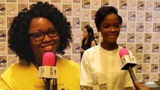 connectYoutube - BGN Interview: Jamie chats with Letitia Wright of