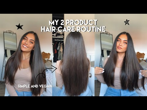 MY 2 PRODUCT HAIR CARE ROUTINE