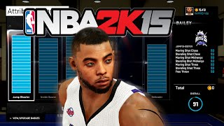 NBA 2K15  My Career Attribute Update | 6