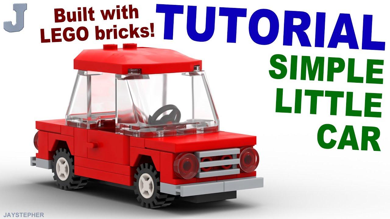 tutorial simple little lego car youtube. Black Bedroom Furniture Sets. Home Design Ideas